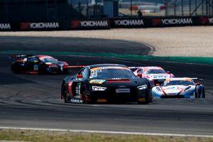 #33 Team ISR Audi R8 LMS: Filip Salaquarda, Frank Stippler