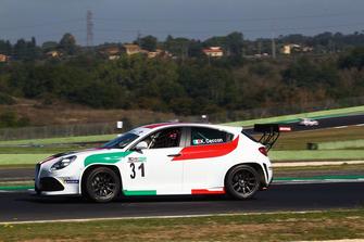 Kevin Ceccon, Alfa Romeo Giulietta TCR