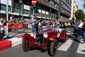 Charles Leclerc, Sauber in vintage car