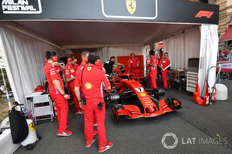Гараж Ferrari