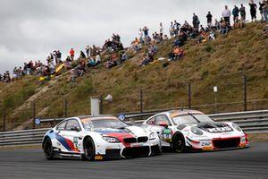 #42 BMW Team Schnitzer BMW M6 GT3: Mikkel Jensen, Timo Scheider, #17 KÜS Team75 Bernhard Porsche 911 GT3 R: Timo Bernhard, Marc Lieb