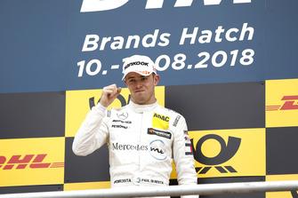 Podio: ganador de la carrera Paul Di Resta, Mercedes-AMG Team HWA