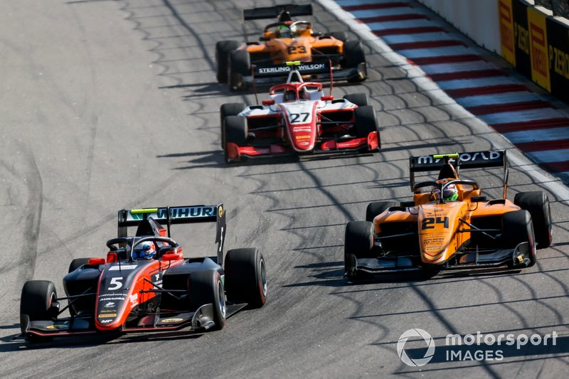 Simo Laaksonen, MP Motorsport and Alessio Deledda, Campos Racing