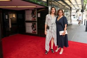 Michèle Mouton con la figlia Jessica