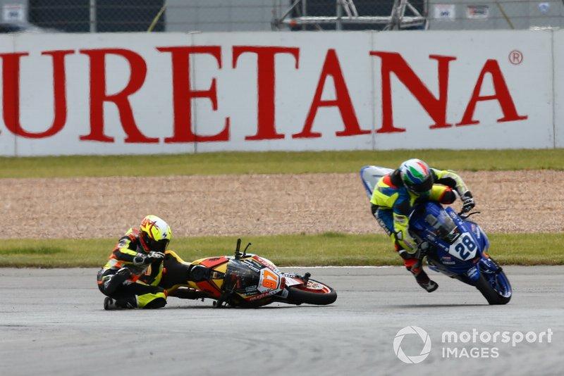 Maximilian Kappler, KTM, Omar Bonoli, Yamaha