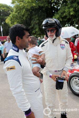 Karun Chandhok en Damon Hill
