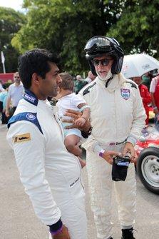 Karun Chandhok and Damon Hill