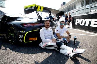 #44 Mercedes-AMG Team Strakka Racing Mercedes-AMG GT3: Gary Paffett, Tristan Vautier