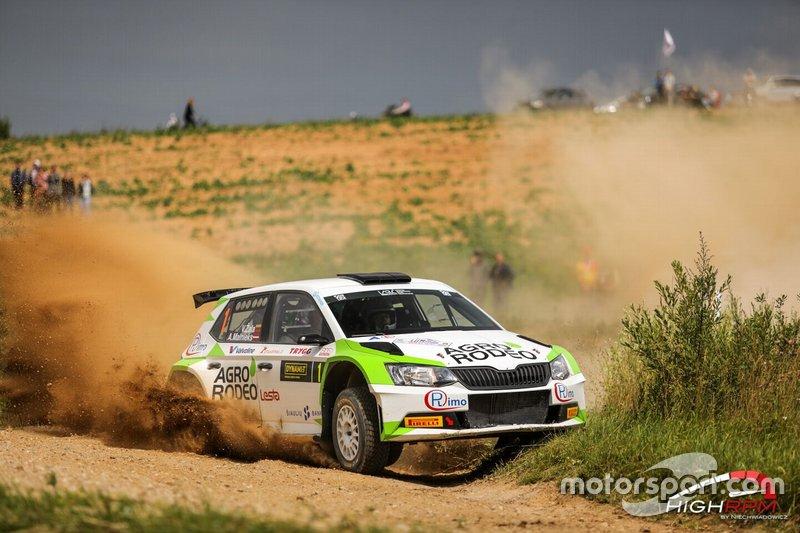 Vaidotas Zala, Andris Malnieks, Skoda Fabia R5, Rally Elektrenai, RSMP