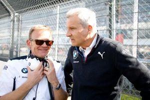 Stefan Reinhold, teambaas BMW Team RMG, Jens Marquardt, BMW Motorsport Director