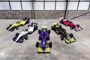 Apresentação dos carros da W Series