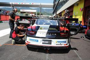 Patrick Kujala, Bonaldi Motorsport, in pit lane