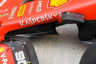 Ferrari technical detail