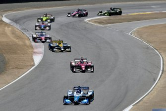 Renn-Action auf dem Laguna Seca Raceway