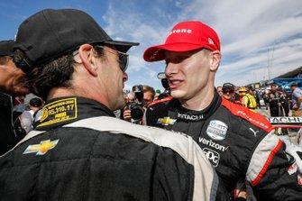 Ganador del título Josef Newgarden, Team Penske Chevrolet