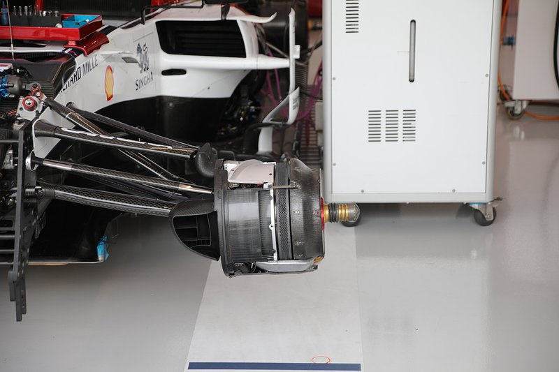 Alfa Romeo Racing C38, brake