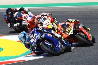 Marco Melandri, GRT Yamaha WorldSBK, Alvaro Bautista, Aruba.it Racing-Ducati Team