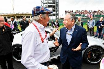 Sir Jackie Stewart, 3 veces campeón de F1, y Jean Todt, presidente de la FIA