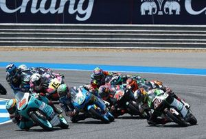 Moto3-Action in Buriram