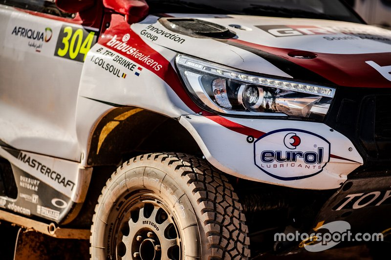 Бернхард тен Бринке и Том Колсул, Toyota Gazoo Racing, Toyota Hilux (№304)
