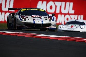 #70 MR Racing Ferrari 488 GTE Evo: Motoaki Ishikawa, Olivier Beretta, Kei Cozzolino