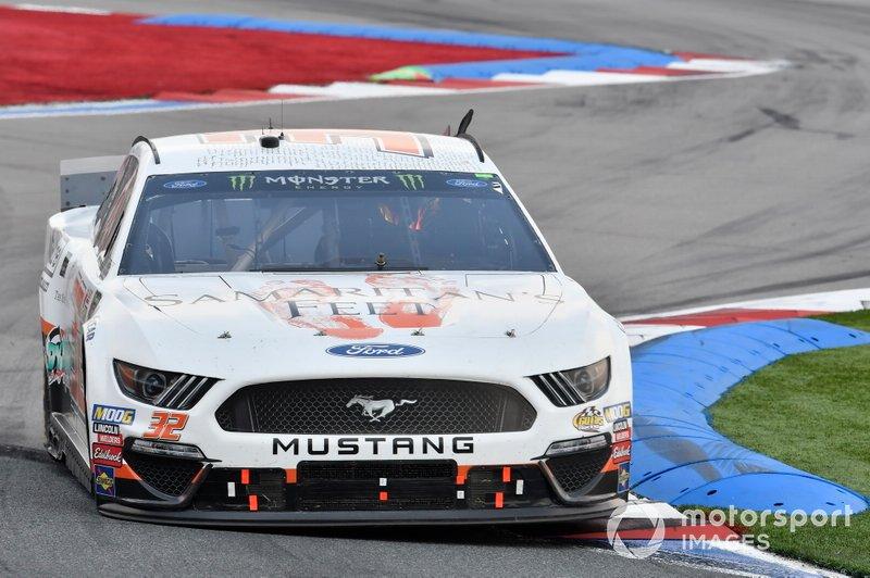 Corey LaJoie, Go FAS Racing, Ford Mustang Samaritan's Feet
