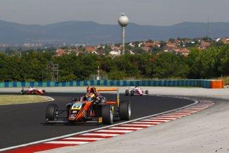 Dennis Hauger, Van Amersfoort Racing, Hungaroring, vincitore di Gara 1