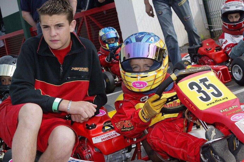 Forte amizade com Bianchi
