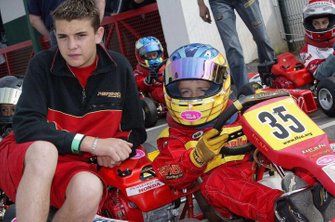 Jules Bianchi and Charles Leclerc