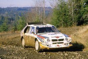 Markku Alen, Ilkka Kivimaki, Lancia Delta S4