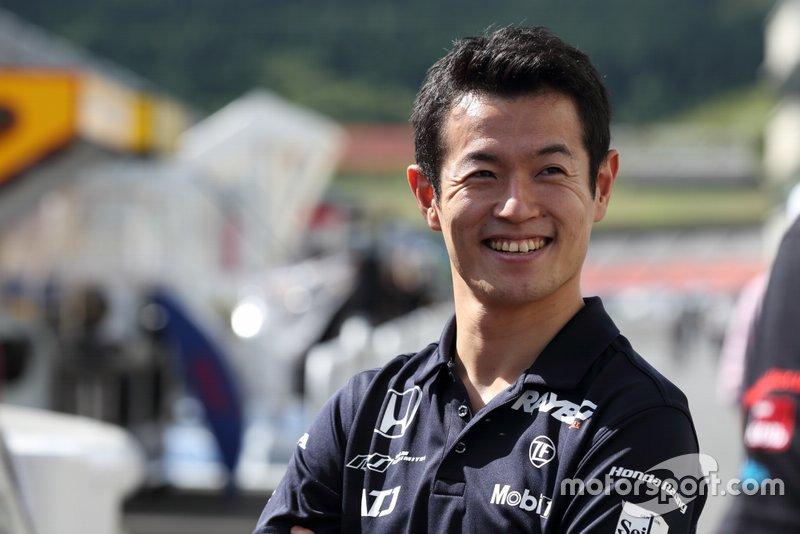 #1 Team Kunimitsu Honda NSX-GT: Naoki Yamamoto