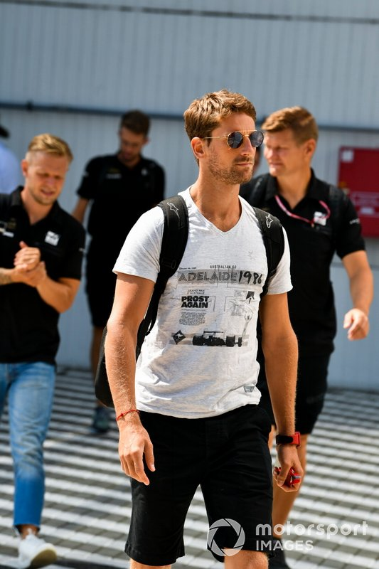 Romain Grosjean, Haas F1 arrives