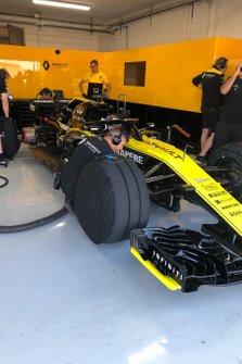 Renault al Test Paul Ricard per il debutto dei pneumatici da 18 pollici