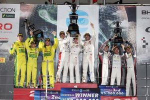 Podium: 1. Audi Sport Team WRT, 2. Mercedes-AMG Team GruppeM Racing, 3. Absolute Racing