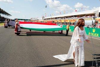 Исполнение государственного гимна Венгрии