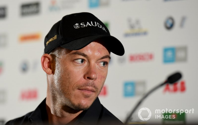 Andre Lotterer, DS TECHEETAH in the press conference