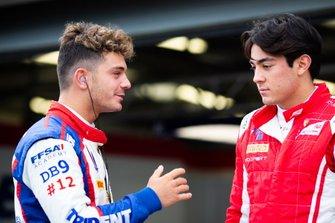 Дориан Бокколаччи, Campos Racing, и Джулиано Алези, Trident