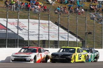 Paul Menard, Team Penske, Ford Mustang Menards/Richmond Michael Annett, JR Motorsports, Chevrolet Camaro Chevrolet Pilot Flying J