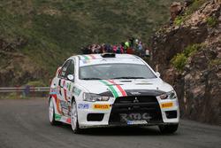 Giacomo Scattolon, Mitsubishi Lancer Evo X