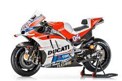 The bike of Andrea Dovizioso, Ducati Team