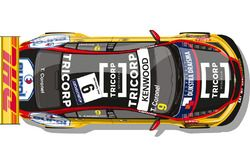 La livrée de la Chevrolet RML Cruze TC1 de Tom Coronel