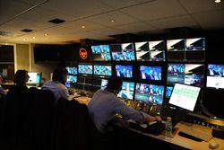 Televizyon kontrol odası