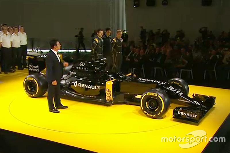 Renault F1 pintura