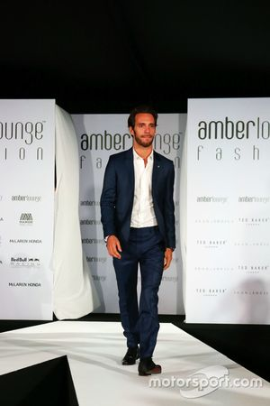 Jean-Eric Vergne, Ferrari au Amber Lounge Fashion Show.