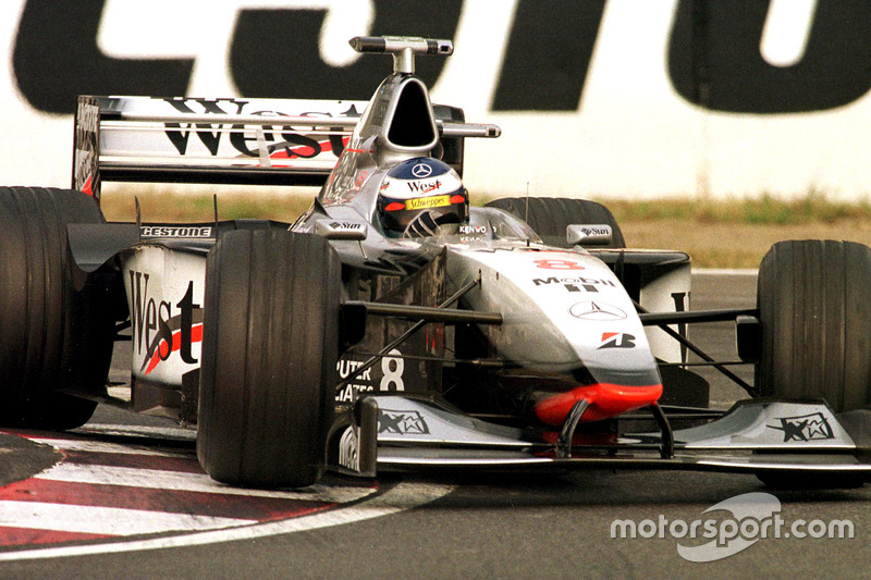 Mika Hakkinen, McLaren on his way to winning the World Championship