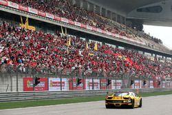 Fans and Ferrari F458 challenge
