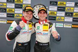 third place #29 Montaplast by Land-Motorsport, Audi R8 LMS: Connor De Phillippi, Christopher Mies