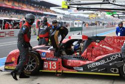 #13 Rebellion Racing Rebellion R-One AER: Matheo Tuscher, Alexandre Imperatori, Dominik Kraihamer