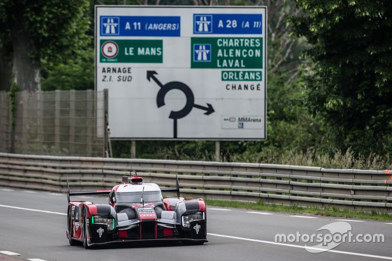 5. LMP1: #7 Audi Sport Team Joest, Audi R18