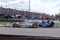 Will Power, Team Penske Chevrolet, Josef Newgarden, Ed Carpenter Racing Chevrolet